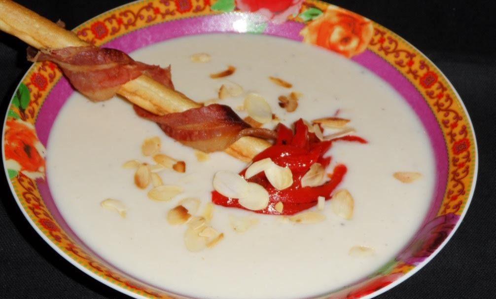 photo de soupe de haricots blancs