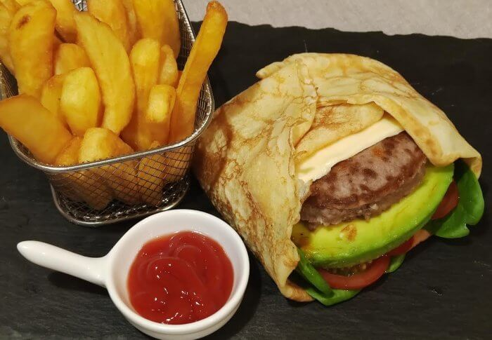 Crêpes burger