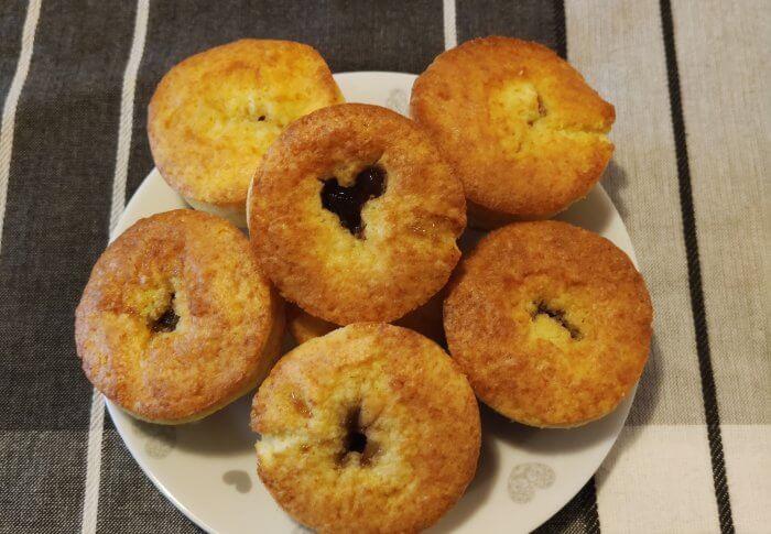 Muffins cœur de figues rhum