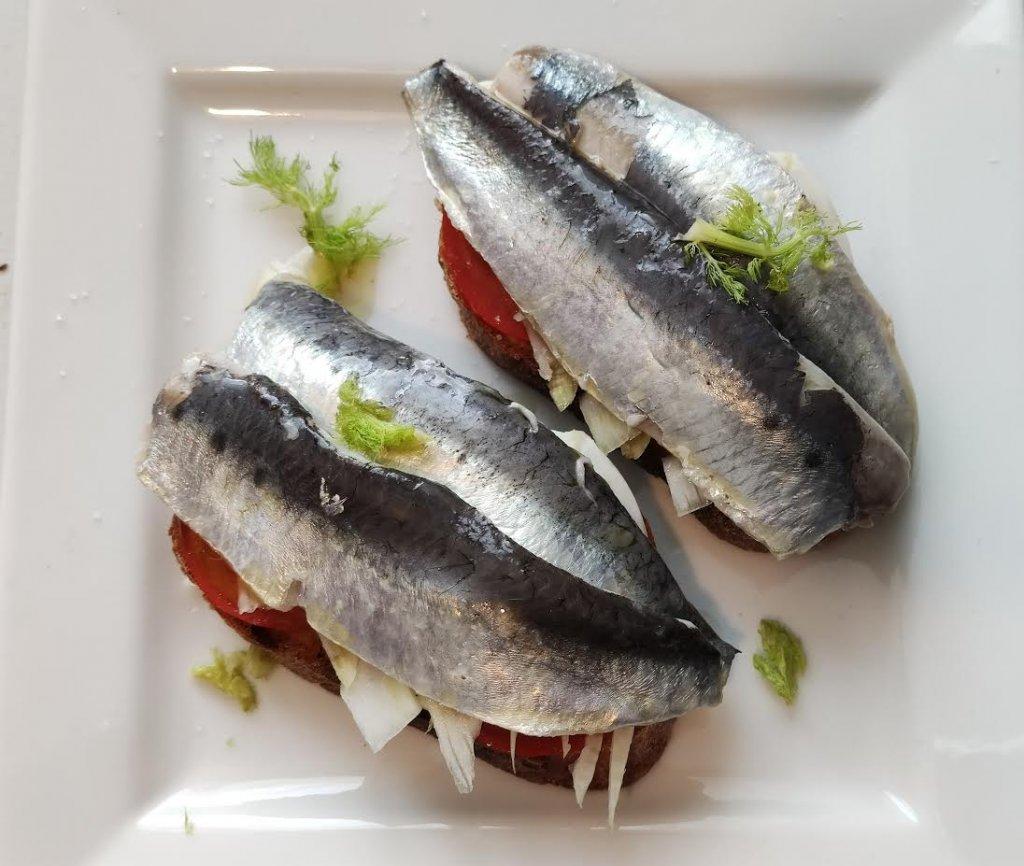 photo de Bruschetta aux sardines